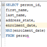 How to Select Rows with Max Value for a Column in Oracle SQL