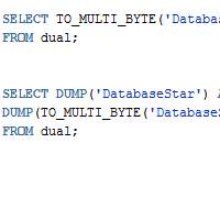 Oracle TO_MULTI_BYTE Function with Examples