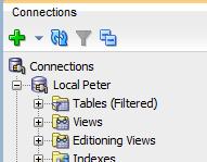 SQL Developer Expand Connection