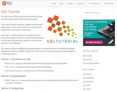 59 Best Resources for Learning SQL - Database Star
