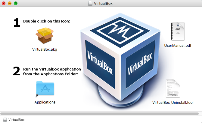 VirtualBox download open