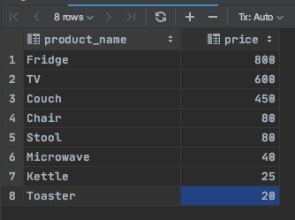 Row number in IDE